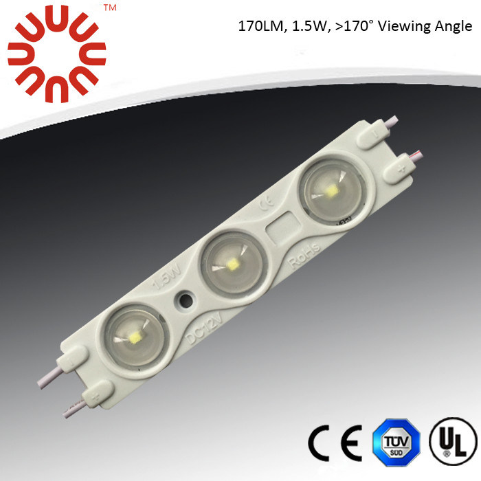 170lm/PC and View Angle >170deg. SMD 2835 UL Injection LED Module