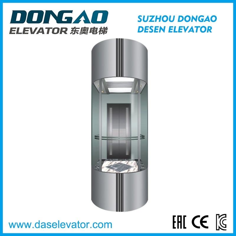 Observation Passenger Elevator-Half Round Series