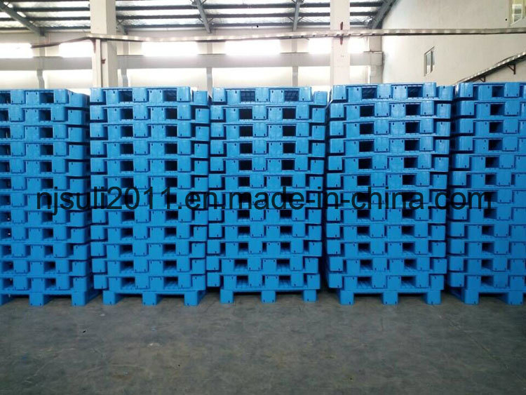 Multi-Size New HDPE 3 Skids Plastic Pallet From China Manufacturer