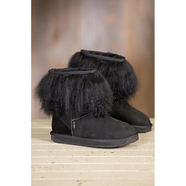 Women′s Roxanne Sheepskin Boots with Tibetan Wool Trim