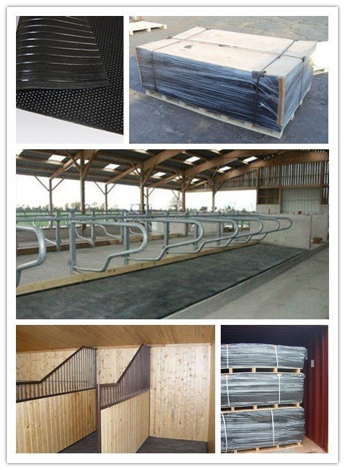Rubber Anti-Fatigue Rubber Stable Mat Rubber Cow Mattress
