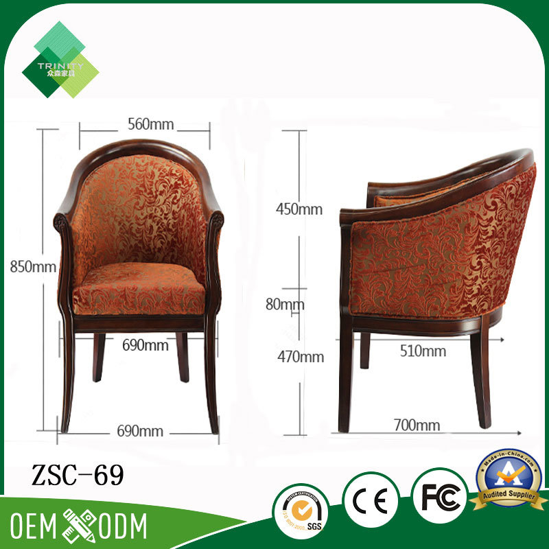 2017 Latest Fashion Top Design Round Back Chair for Sale