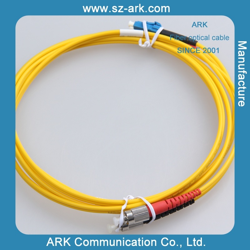 Fiber Optic Sm Duplex LC-FC Patch Cord