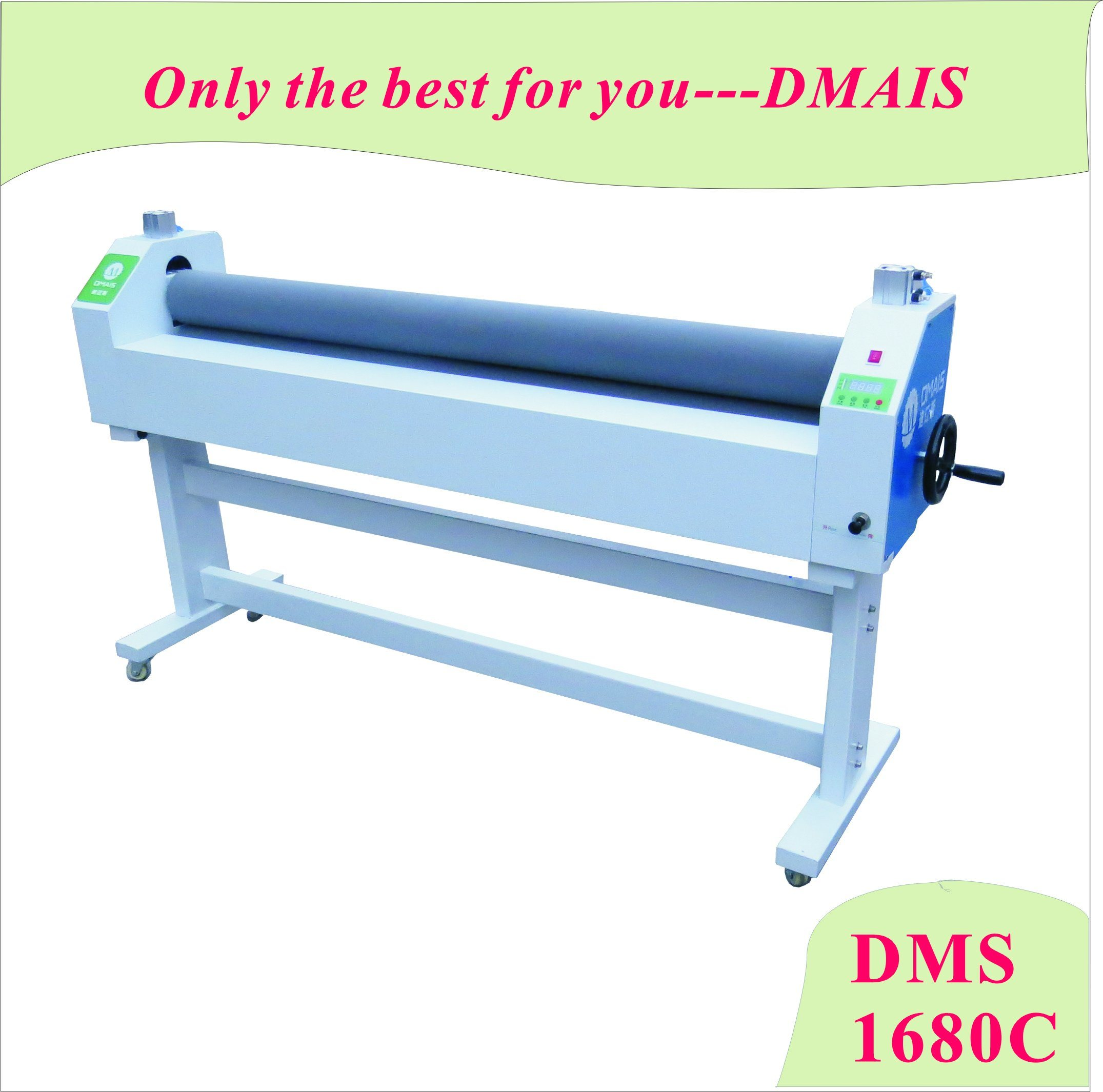 DMS-1680c Pneumatic and Manual Laminator for Advertisement