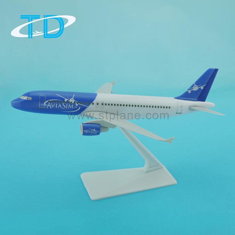 Custom Printing A320 Aviasim 18.8cm Scale 1: 200 Model Aircraft Advertising Gift