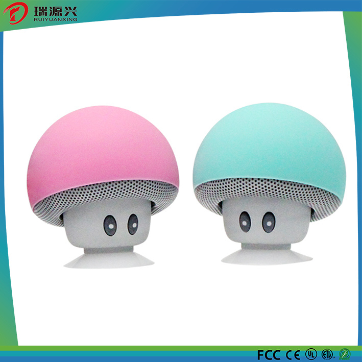Customized Logo Fashion Mushroom Shape Mini Wireless Speaker