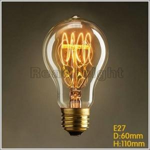 Ce UL G125 Vintage Tungsten Edison Bulb