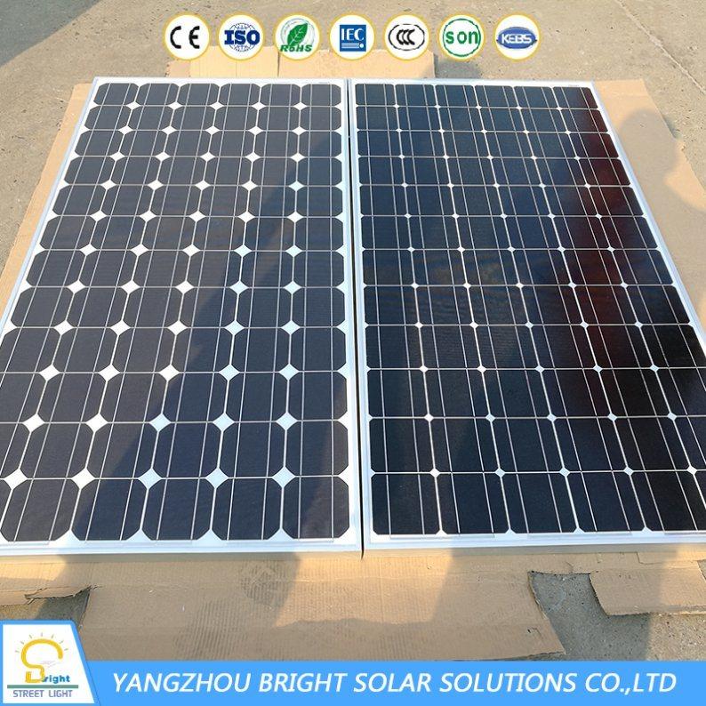 8m 60W Street LED Light with Solar Panel