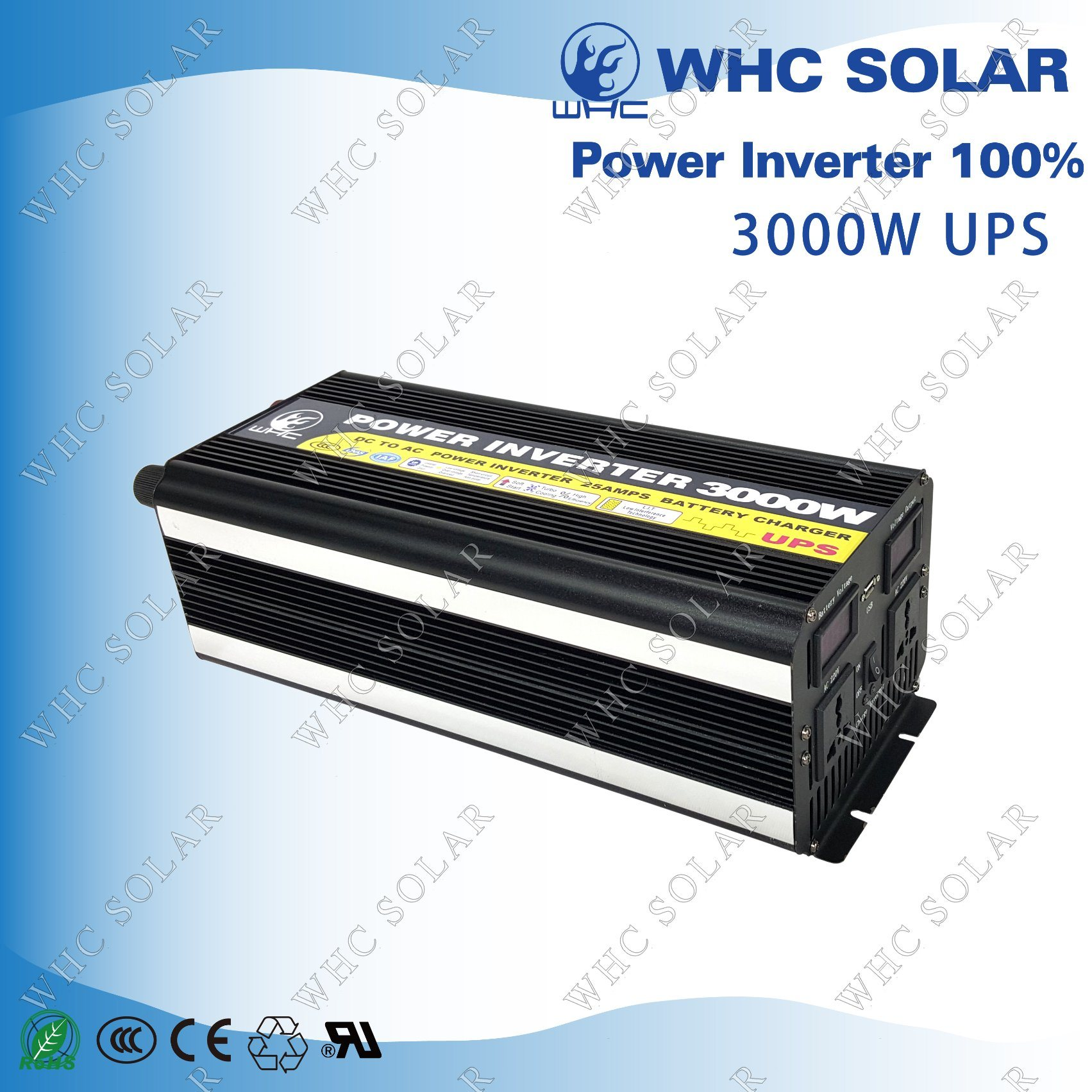 Square Wave Low Consumption 3000W Soalr Charge Inverter