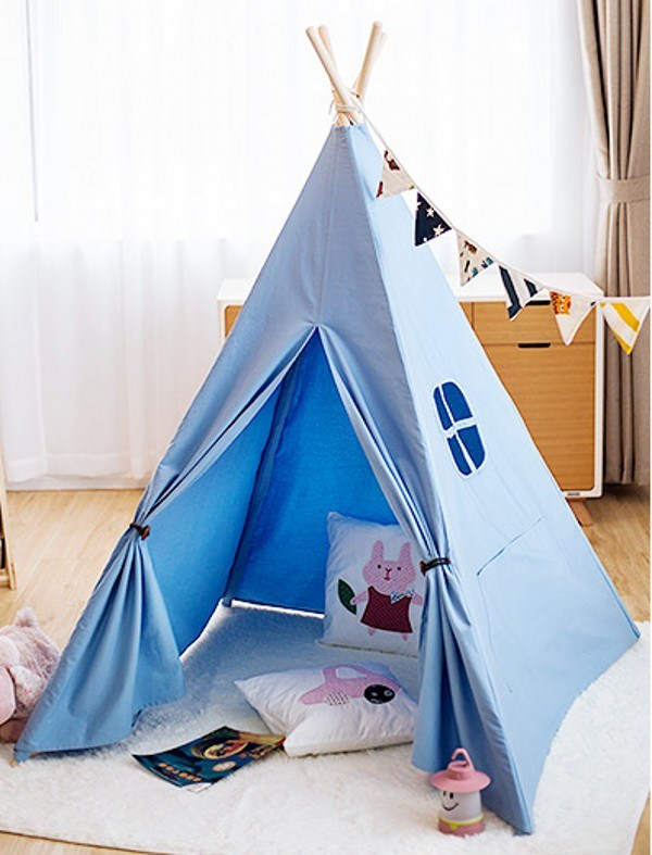 High Grade 100% Cotton Canvas Luxury Indian Tipi Tent