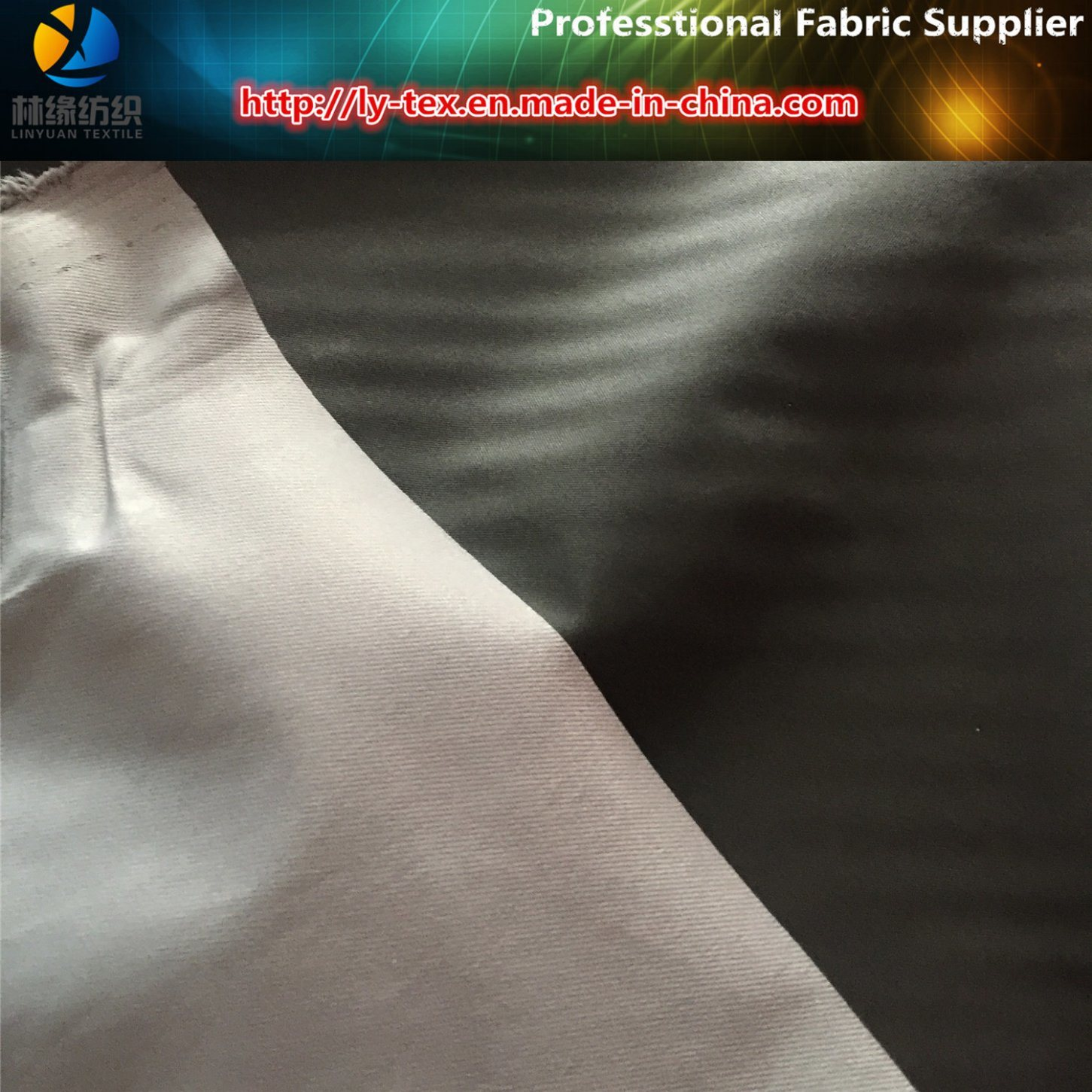 New Polyester Twill Check Printed PU Coated Fabric for Men Garment, Polyester Fabric Supplier