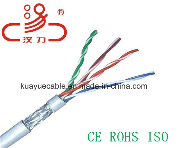 4 Pair SFTP Cat5e Cable/Computer Cable/Data Cable/Communication Cable/Audio Cable/Connector