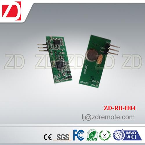 Best Price Superheterodyne 433MHz RF Receiver Module for Motorcar Alarm System Zd-Rb-H06