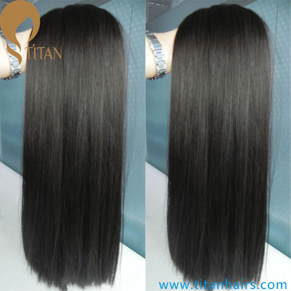 100% Natural Black Virgin Remy Human Hair Weft