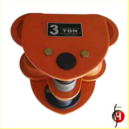 Hot Sale Good Quality 1t Manual Trolley for Chain Block and Electric Chain Hoist