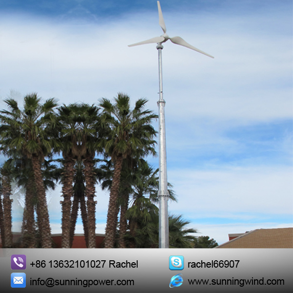 Renewable Energy 5000W Wind Energy for on Grid and off Grid Power Supply