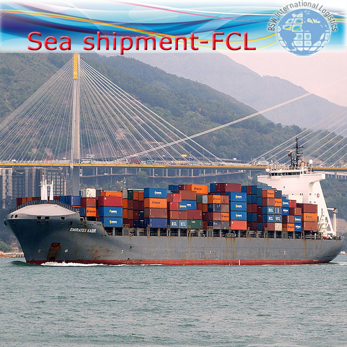 Freight Shipping, International Agent Service From China to Worldwide (FCL 20′′40′′)