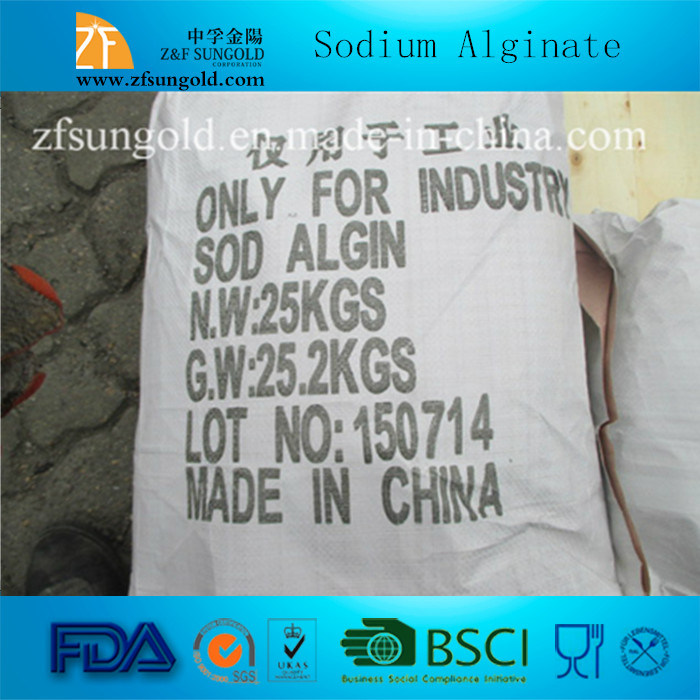 800-1200cps Textile Grade Sodium Alginate