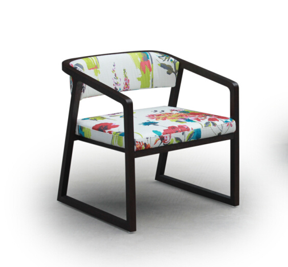 New Design Fabric Color Optional Arm Chair