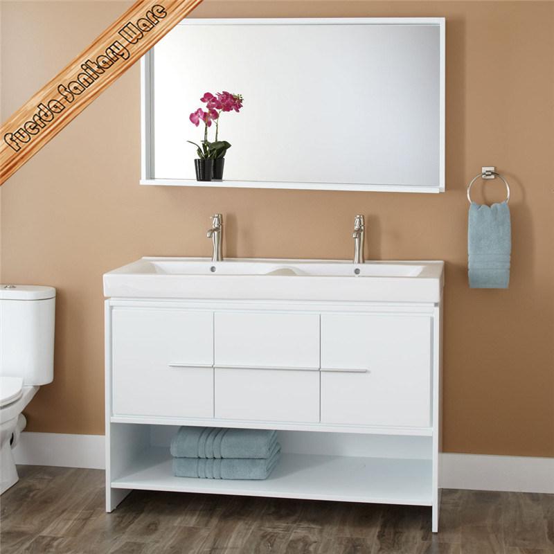 Fed-1249 Solid Wood Bathroom Vanity, Bath Cabinet