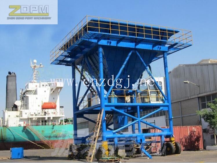 50cbm Rubber Type Mobile Dust-Proof Hopper