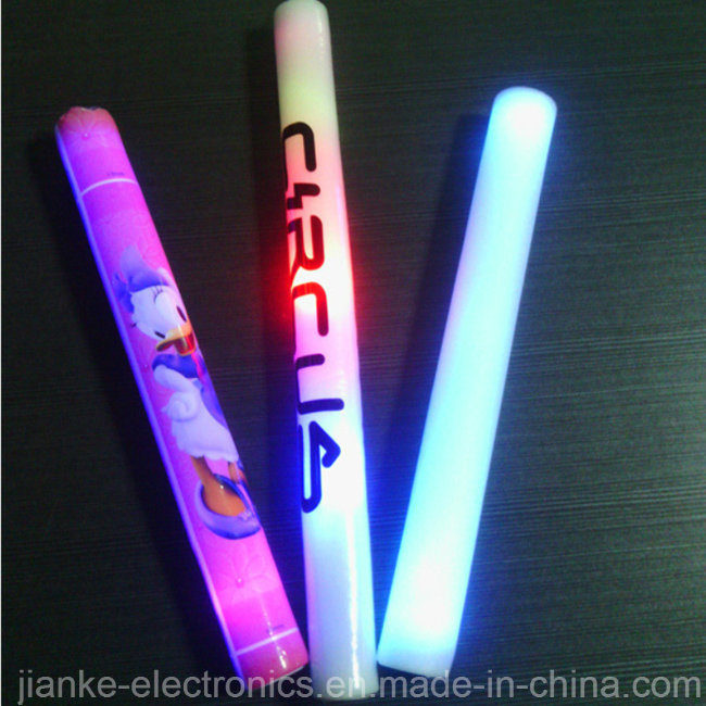 Customized Logo Glow LED Foam Stick for Promotion Gifts (4016)
