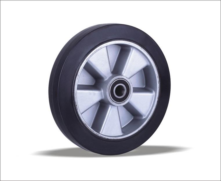 Polyurethane Pruducts of Wheel Barrow Solid Rubber Wheels