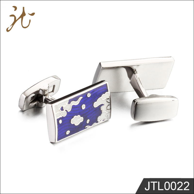 Fashion Nice Quality Square Cufflink Buttons in Bulk