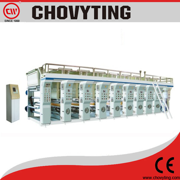 Computer Controlled High Speed Rotogravure Printing Machine