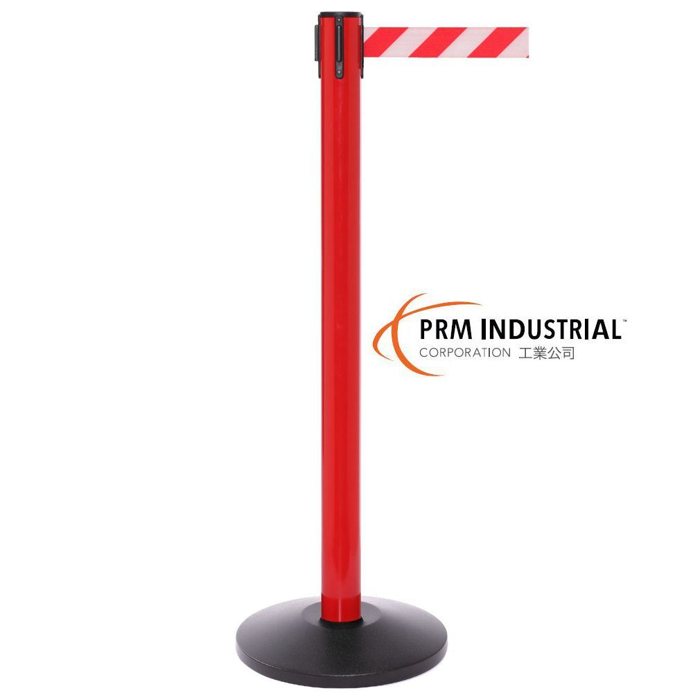 Safetypro 250 Red Color Industrial Crowd Control Post Stanchion