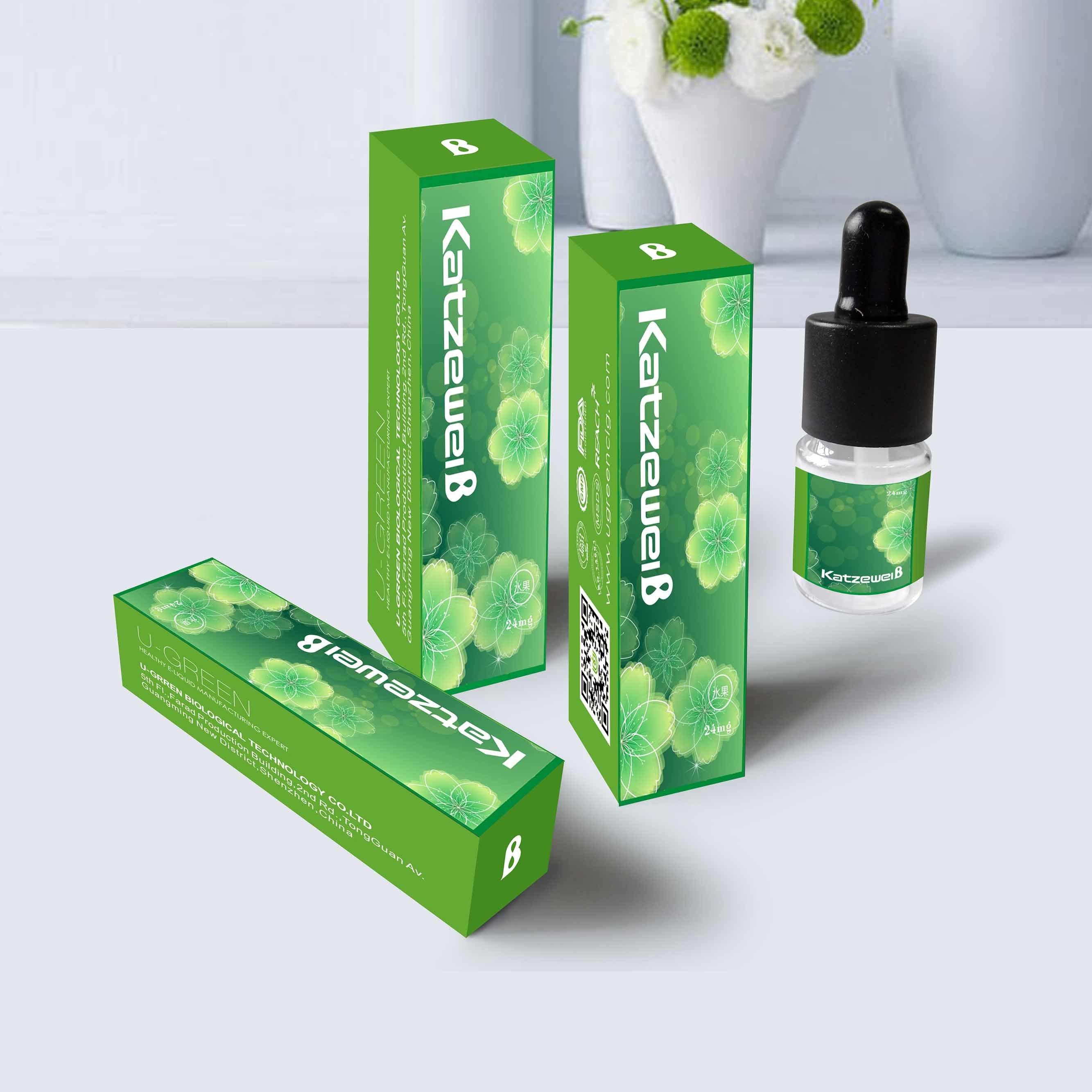 Fresh Mint Menthol Strong Mint Green Mint Doublemint Juce E-Liquid