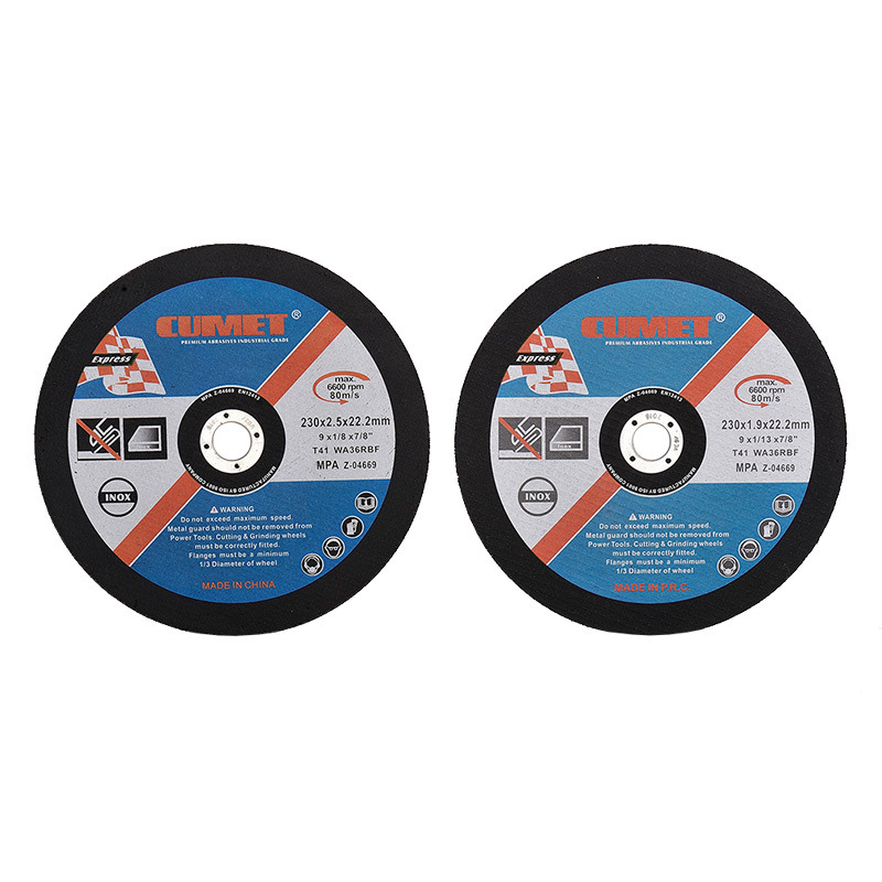Depressed Centre Grinding Wheels for Metal (230X6.0X22.2mm) Abrasive with MPa Certificates