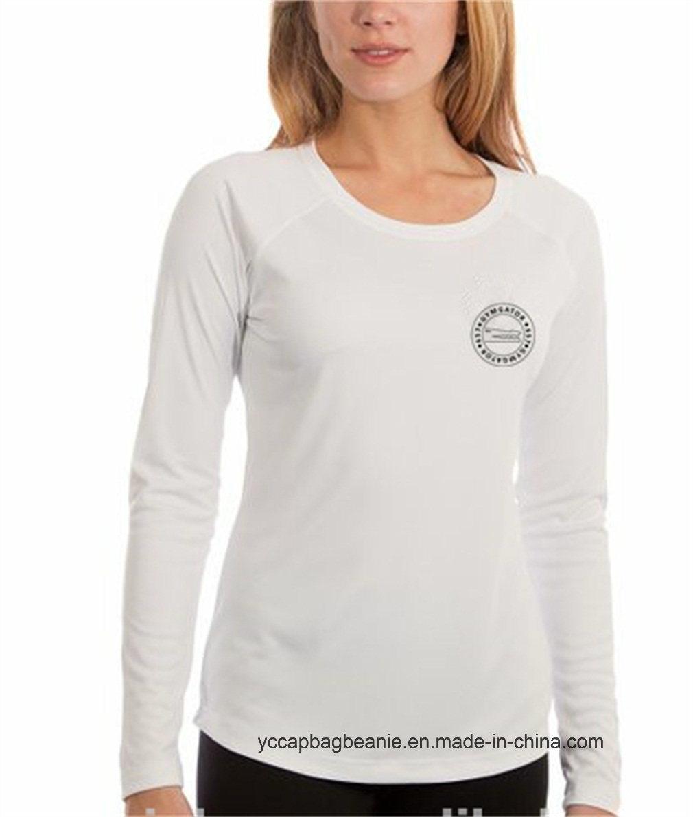 100% Microfiber Performance Womens Long Sleeve Shirt