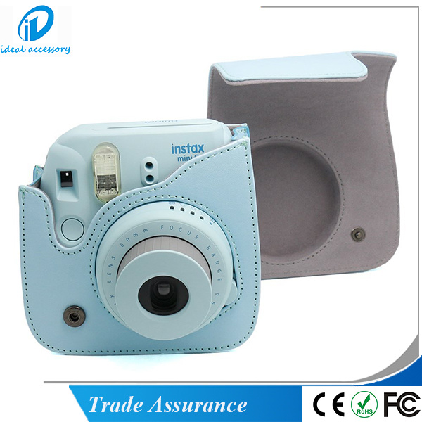 Fujifilm Instax Camera PU Leather Mini8 Plus Bag Case