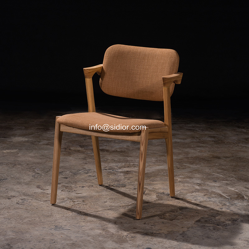 (SL-8109) Hotel Dining Restaurant Furniture Wooden Dining Chair