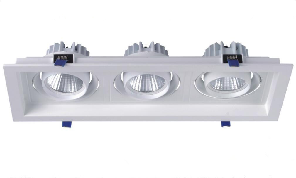 3*18W Alumminum LED Ceiling Lamp