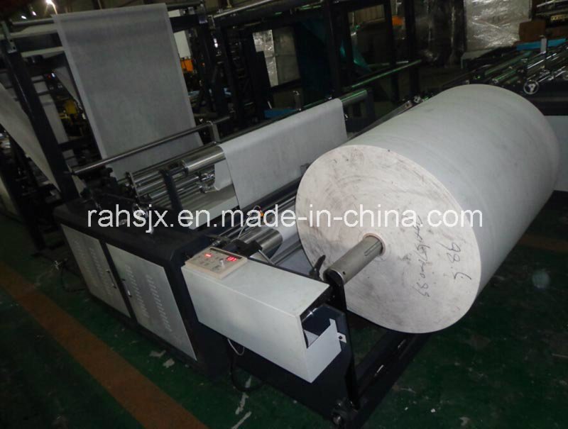 Automatic PP Non-Woven Fabric Handle Bag Making Machine (WFB-DC600)