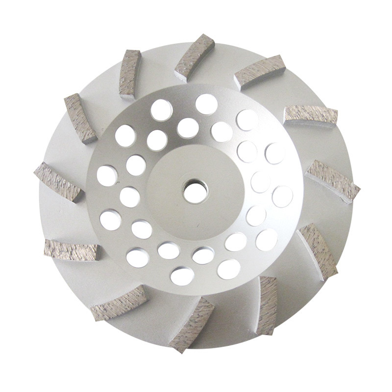 180mm Turbo Segment Diamond Cup Wheel