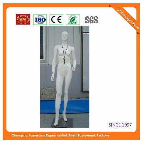 Fiberglass Woman Mannequin Stand Posture