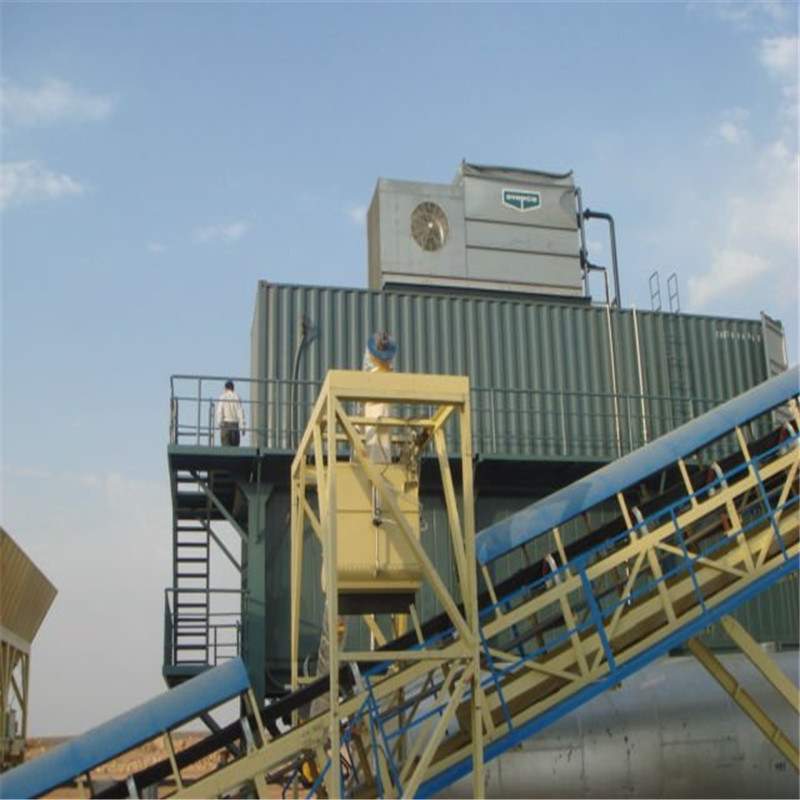 Containerized Concrete Cooling Ice Plant System