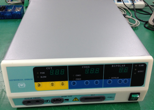 100W 300W 400W Bipolar Electrosurgical Unit with Ce
