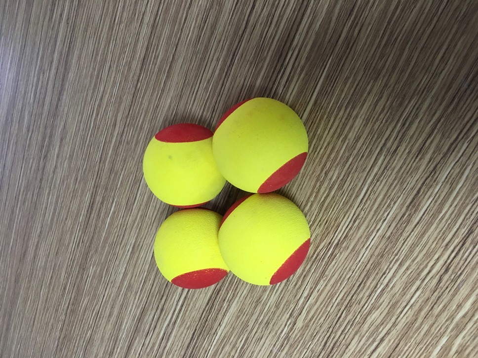 Colorful Prnting Foam Tennis Ball