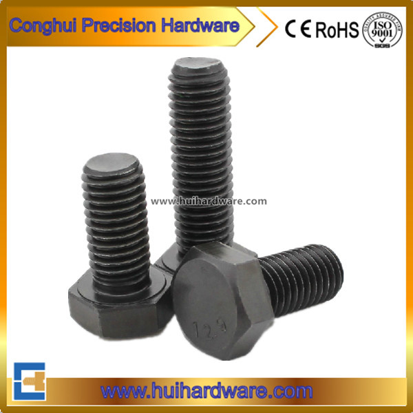 Carbon Steel Grade 12.9 Full Thread Hex Head Bolts