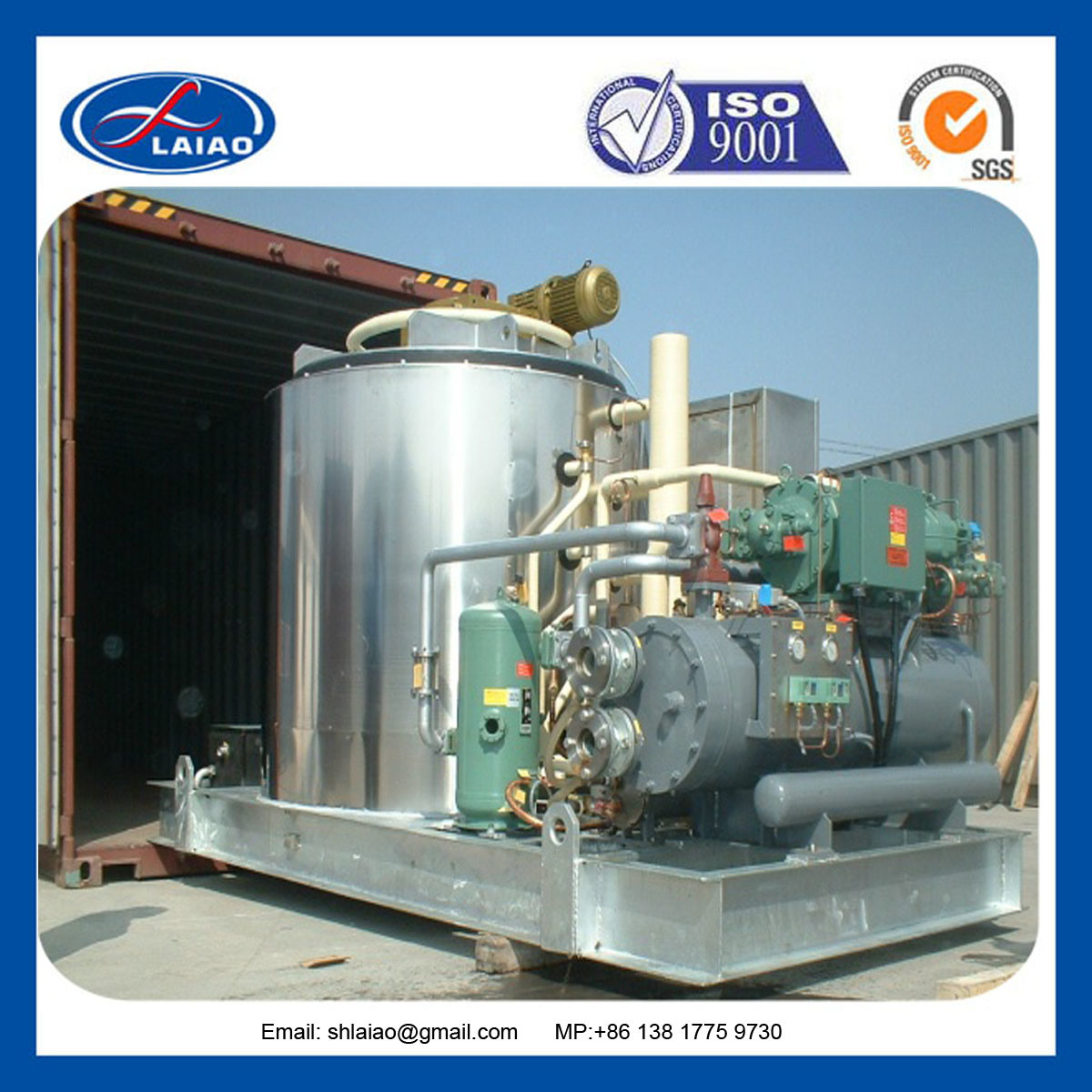 Flack Ice Machinery, Commercial Ice Maker