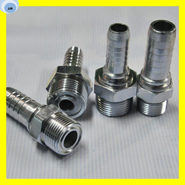 Male Hose Fitting Carbon Steel Fitting Rubber Rubber Hose Fitting