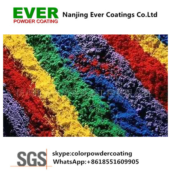 Polyester Antique Copper Hammer Tone Spray Powder Coating Powder Paints