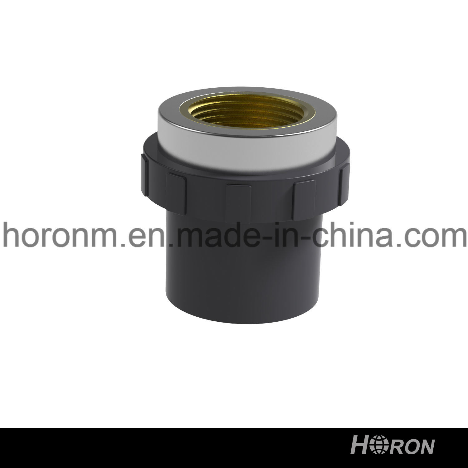 Water Pipe-UPVC Pipe Fitting-UPVC Famale Thread Coupling-PVC Sch80 Coupling