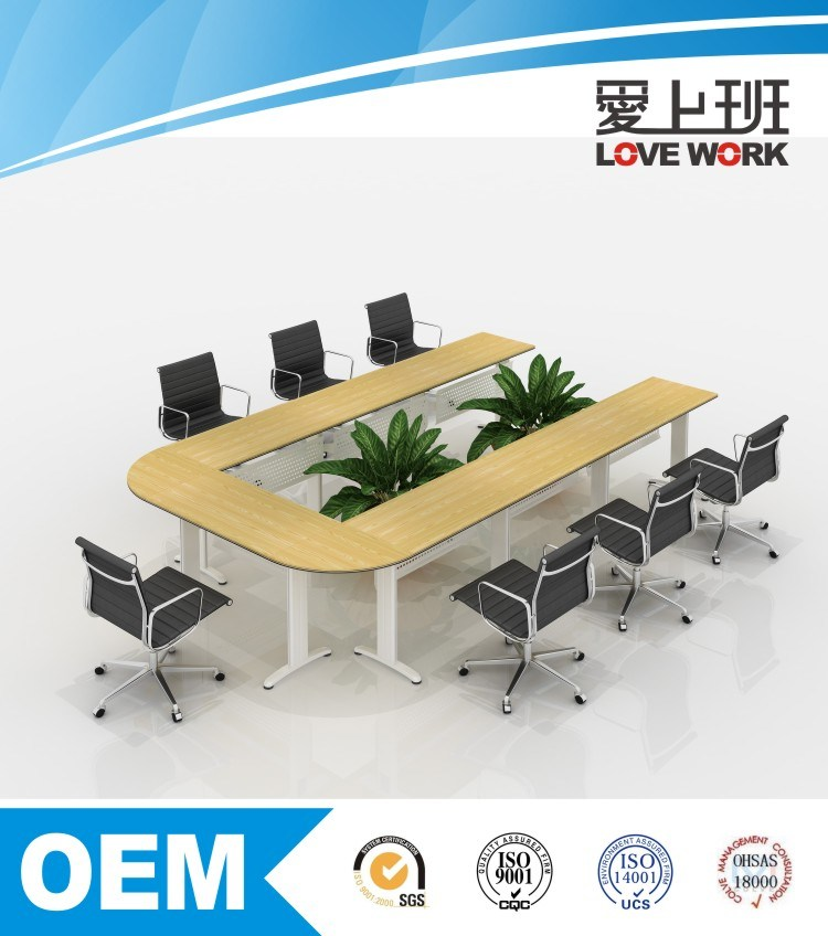 U-Shape Modern Design Meeting Table Conference Table