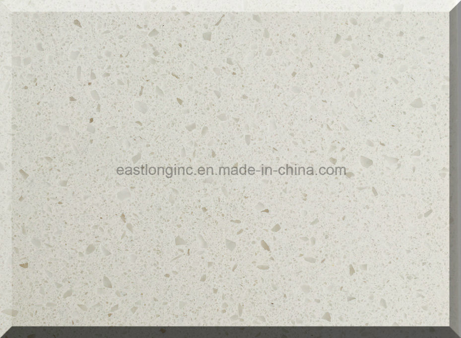 Snow White Artificial Quartz Stone for Solid Surface