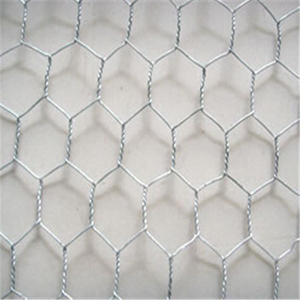 """3/4"""" Galvanized Hexagonal Wire Mesh"""